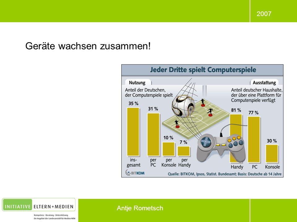 2007 Antje Rometsch Mobilfunk-Boom hält an.In Deutschland gab es 2006 84,3 Mio.