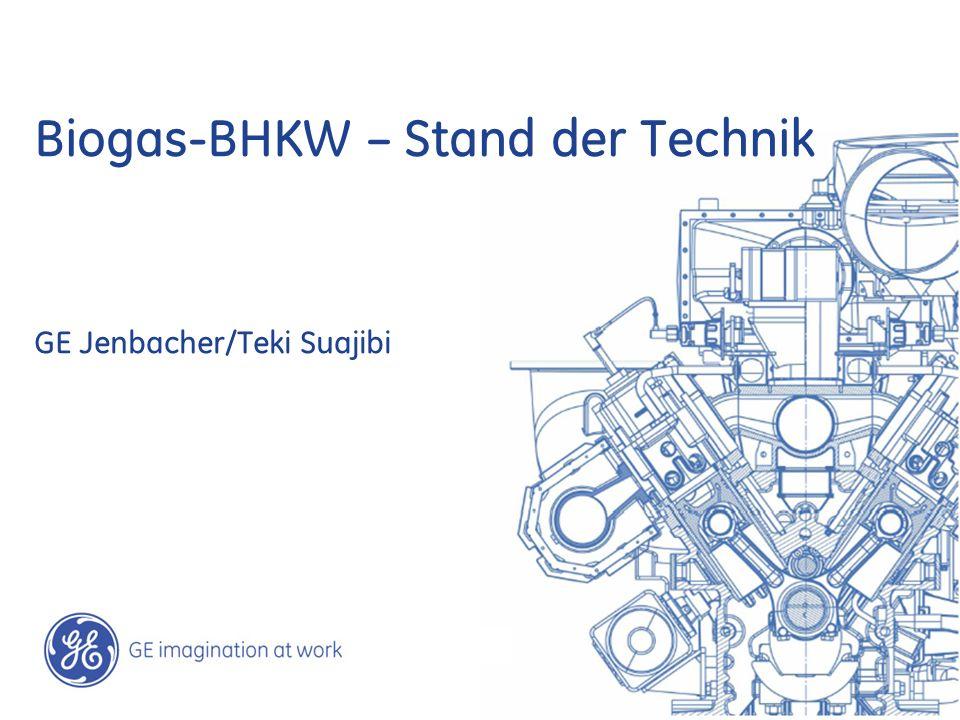 22 / GE Jenbacher /Teki Suajibi March 2, 2014 Biogasanlage – Bösch Herisau - Schweiz: Anzahl und Motortyp:1 x JMC 320 GS-B.LC Treibstoff:Biogas aus Lebensmittel-/Schlachtabfall/Schweinegülle Elektr.