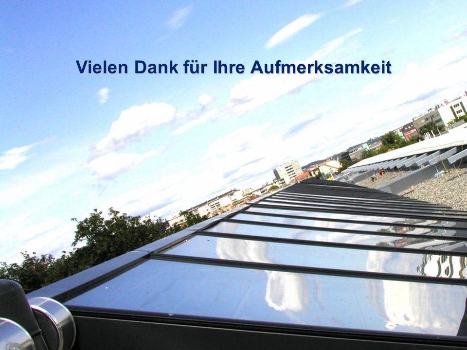30 Solares Wohnen in Wien, Wien, 22.06.2007 Vielen Dank für Ihre Aufmerksamkeit