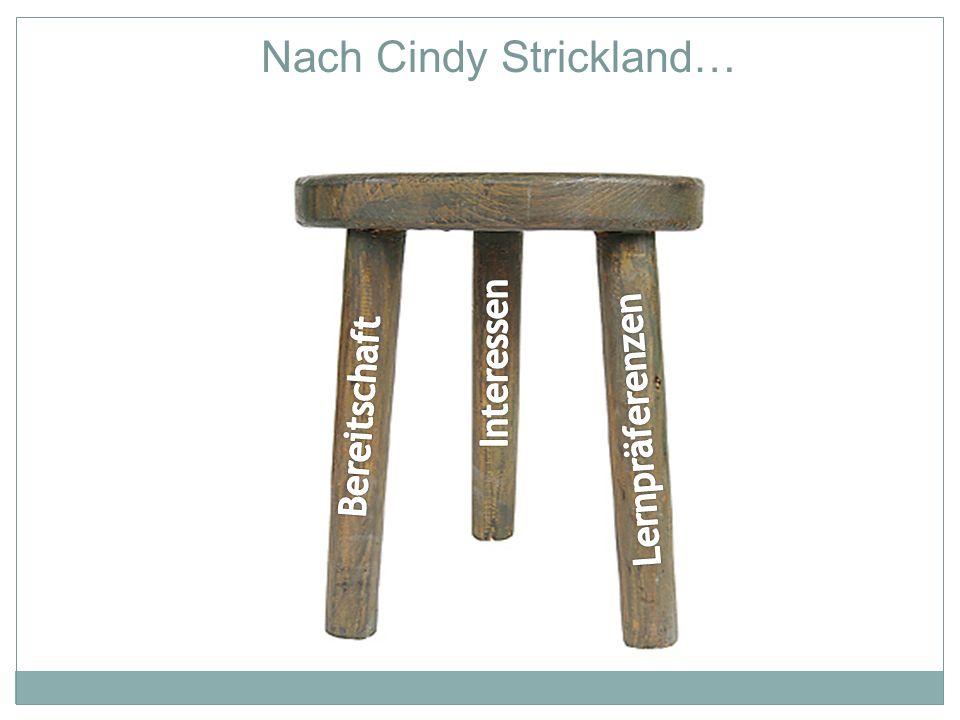 Nach Cindy Strickland…