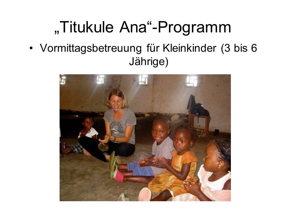 Titukule Ana-Programm Vormittagsbetreuung für Kleinkinder (3 bis 6 Jährige)