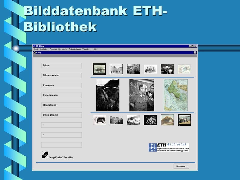 Bilddatenbank ETH- Bibliothek