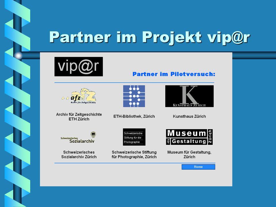 Partner im Projekt vip@r