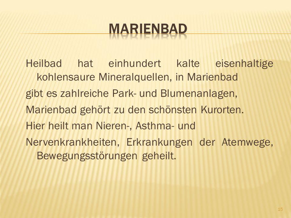 MARIENBADTSCHECHISCHE BÄDER 14