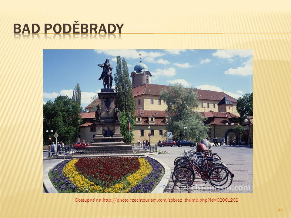 In Bad Poděbrady hat sich der dortige kohlensaure Gesundbrunnen als wichtigstes Naturheilmittel bewährt.