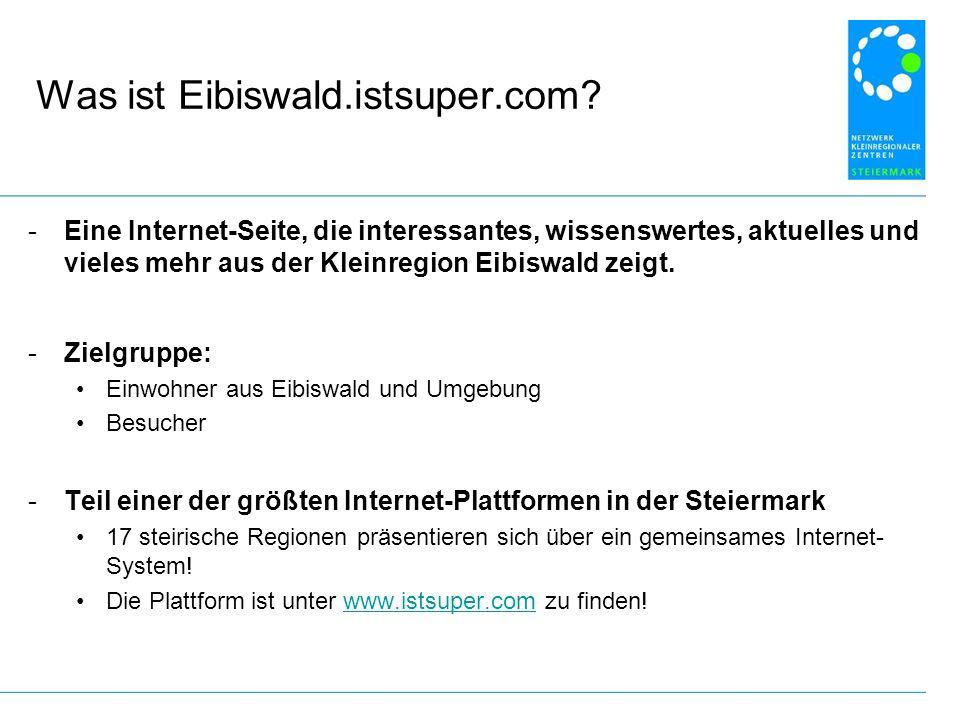 Was ist Eibiswald.istsuper.com.