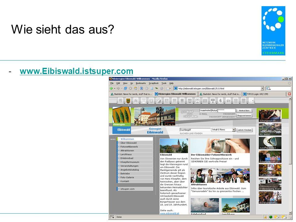 Wie sieht das aus? -www.Eibiswald.istsuper.comwww.Eibiswald.istsuper.com