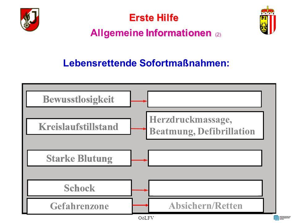 Erste Hilfe (1) Allgemeine Informationen (1) normale OöLFV