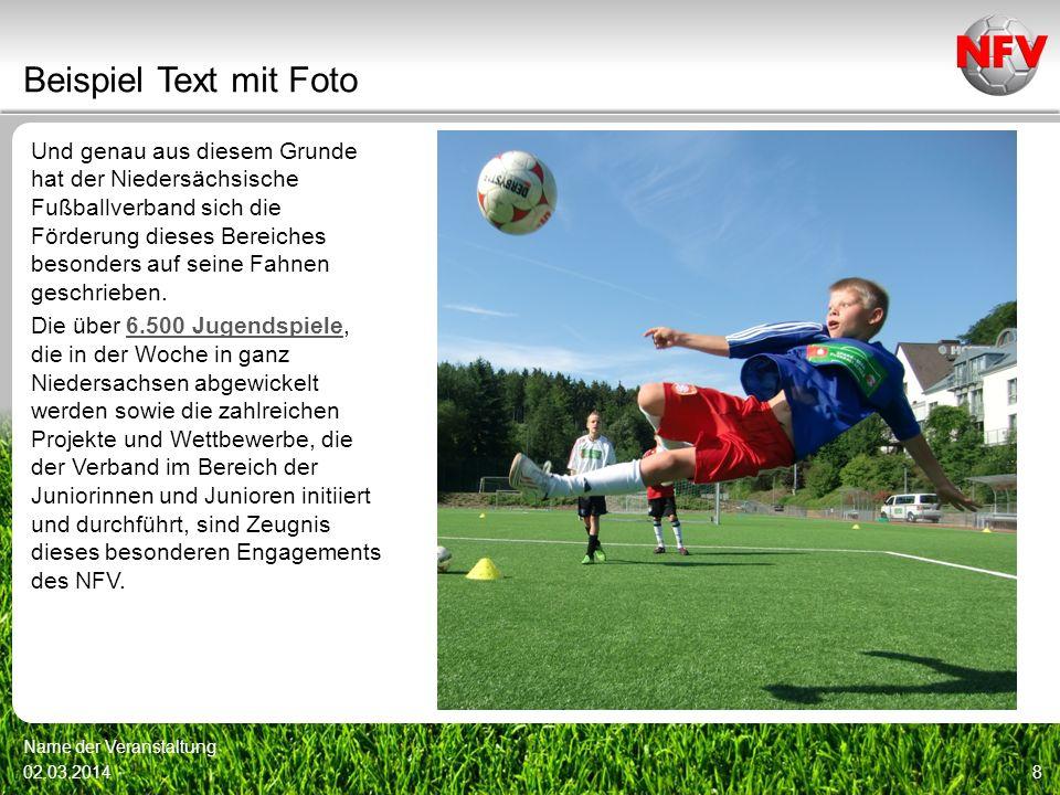 Und genau aus diesem Grunde hat der Niedersächsische Fußballverband sich die Förderung dieses Bereiches besonders auf seine Fahnen geschrieben. Die üb