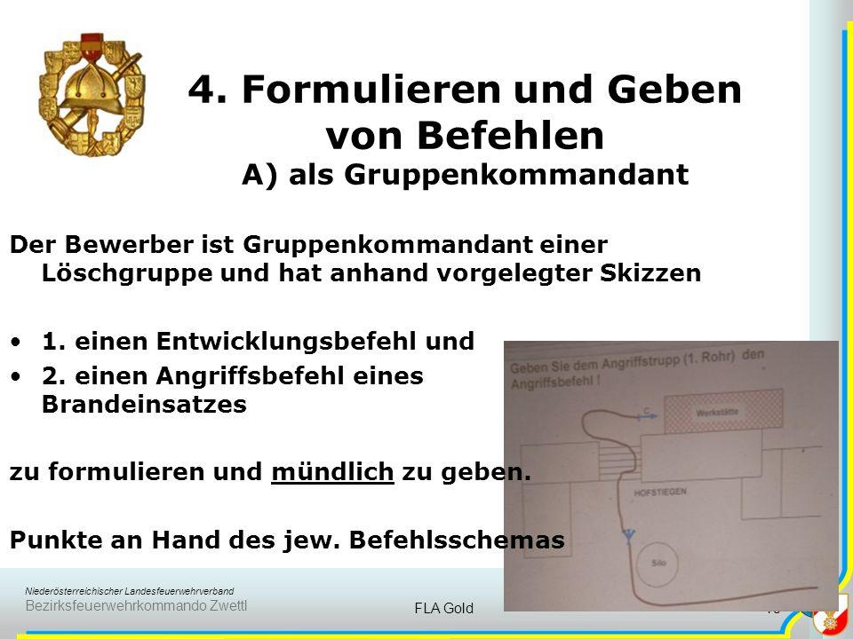 Niederösterreichischer Landesfeuerwehrverband Bezirksfeuerwehrkommando Zwettl FLA Gold17 3. Brandschutzplan B) Geschoßplan Der Bewerber muss Planzeich