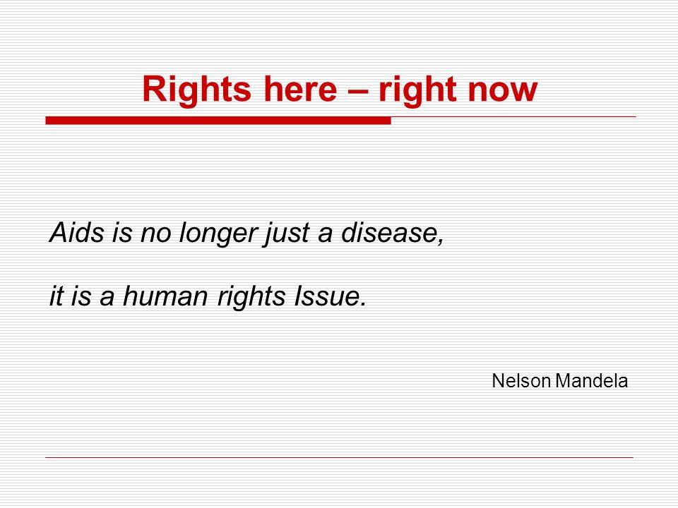 Menschenrechte verwirklichen 1.