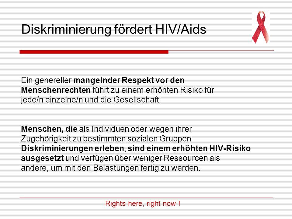 Menschenrechte verwirklichen 5.