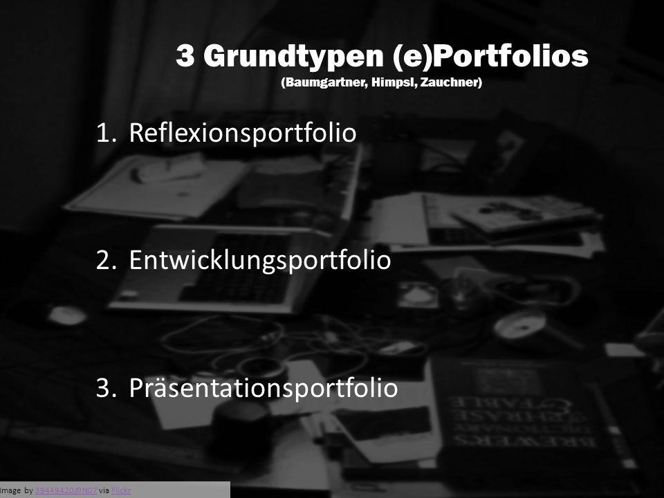 *Image by 39449420@N07 via Flickr39449420@N07Flickr 3 Grundtypen (e)Portfolios (Baumgartner, Himpsl, Zauchner) 1.Reflexionsportfolio 2.Entwicklungspor