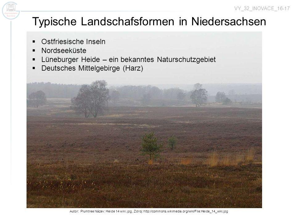 Autor: Plumtree Název: Heide 14 wiki.jpg, Zdroj: http://commons.wikimedia.org/wiki/File:Heide_14_wiki.jpg VY_32_INOVACE_16-17 Typische Landschafsforme
