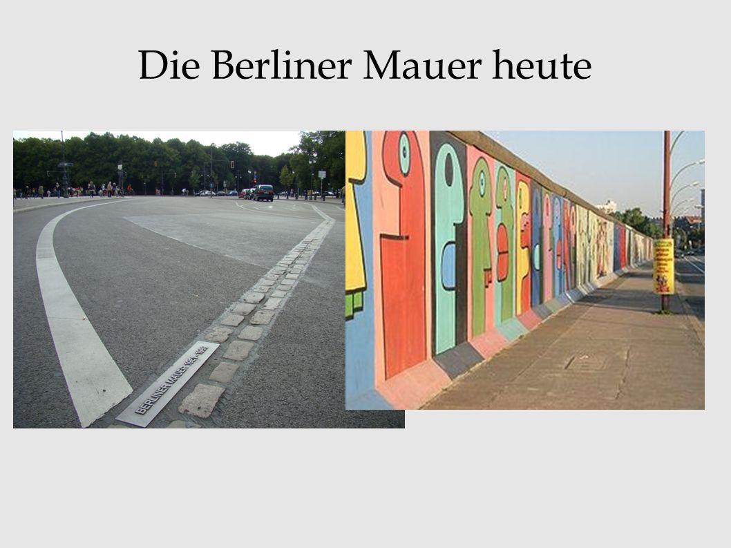 Viele DDR-Bürger …... verlassen weg-gehen