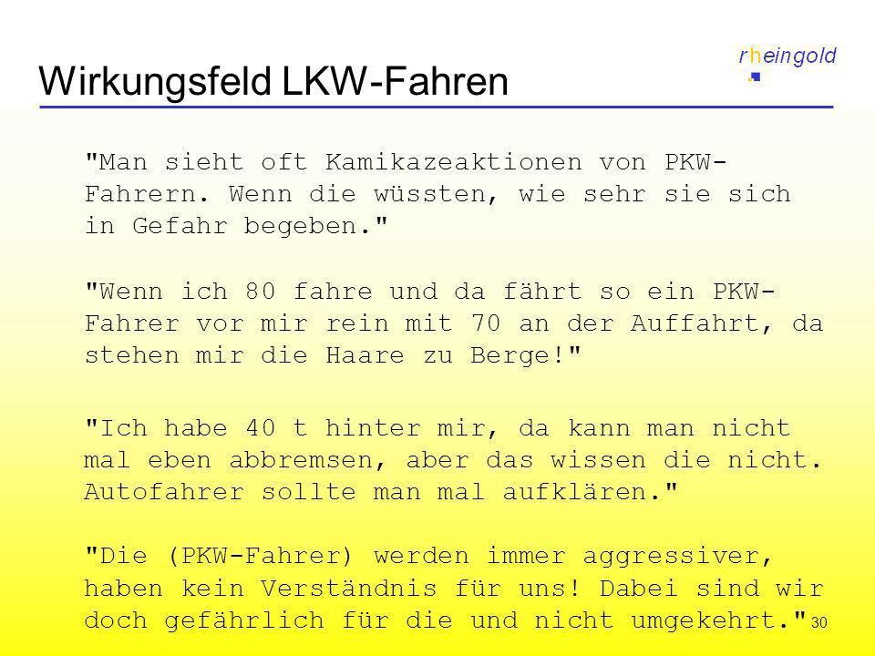 30 Wirkungsfeld LKW-Fahren