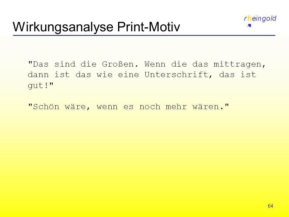64 Wirkungsanalyse Print-Motiv
