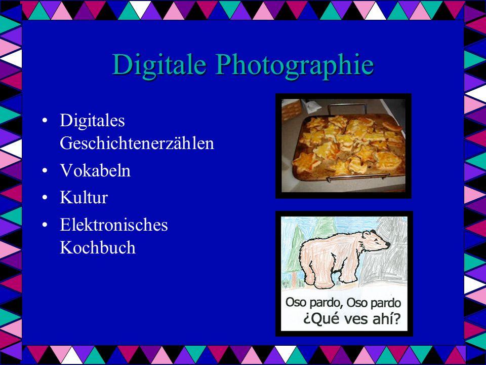 Digitale Photographie Digitales Geschichtenerzählen Vokabeln Kultur Elektronisches Kochbuch