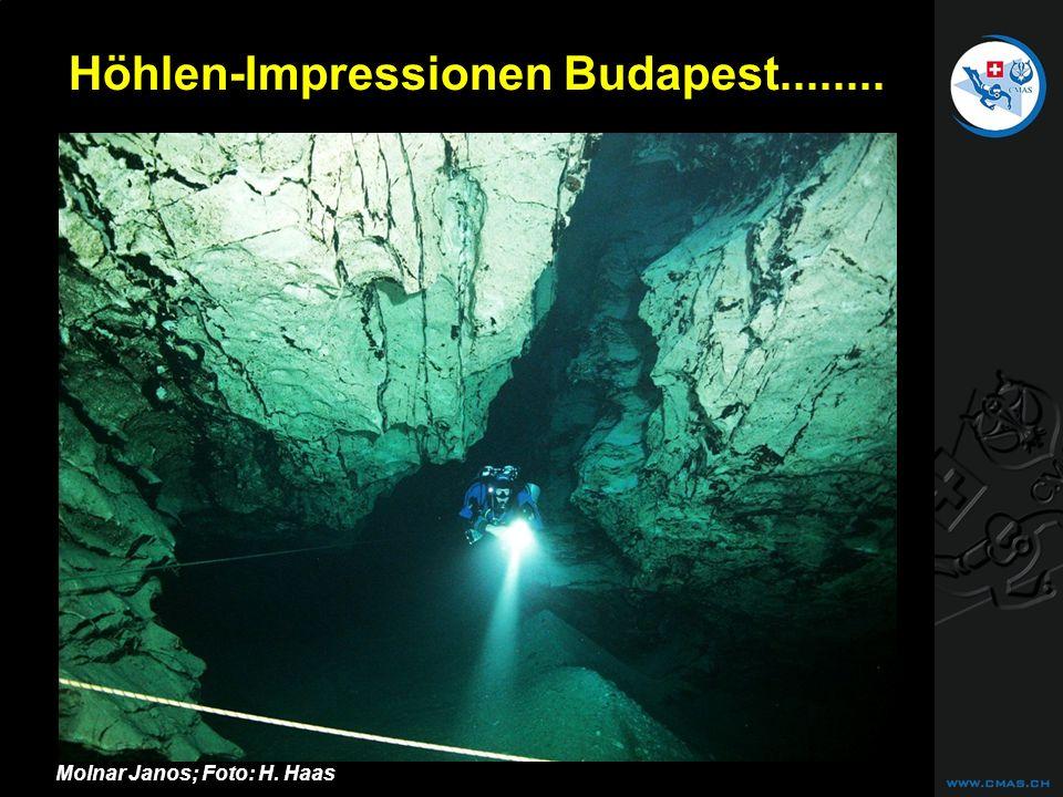 CAVE DIVING Höhlen-Impressionen Budapest........ Molnar Janos; Foto: H. Haas