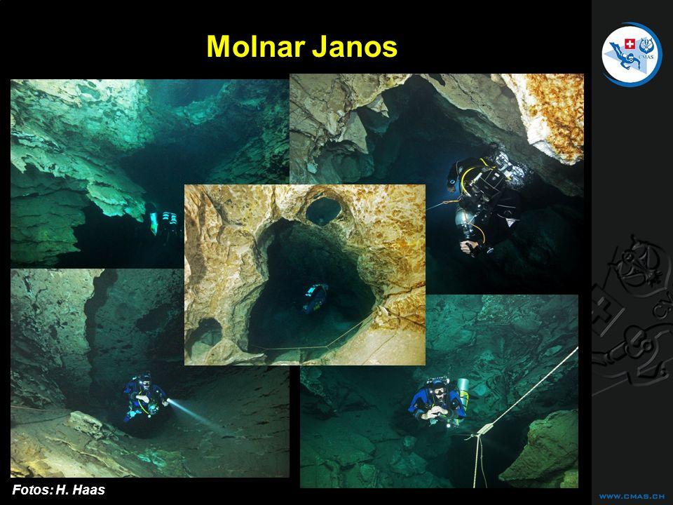 CAVE DIVING Molnar Janos Fotos: H. Haas