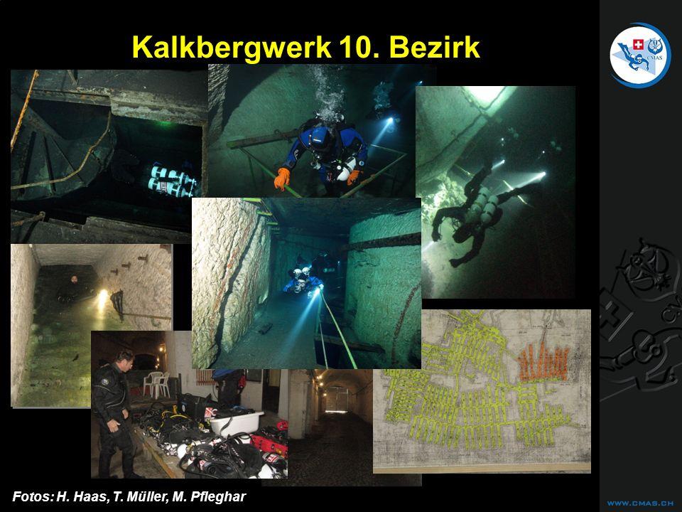 CAVE DIVING Kalkbergwerk 10. Bezirk Fotos: H. Haas, T. Müller, M. Pfleghar