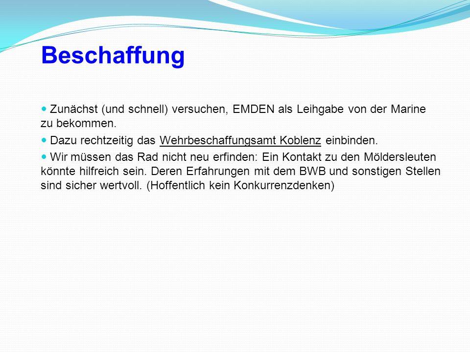 Historische Ausstellung der Geschichte aller EMDEN-Schiffe.