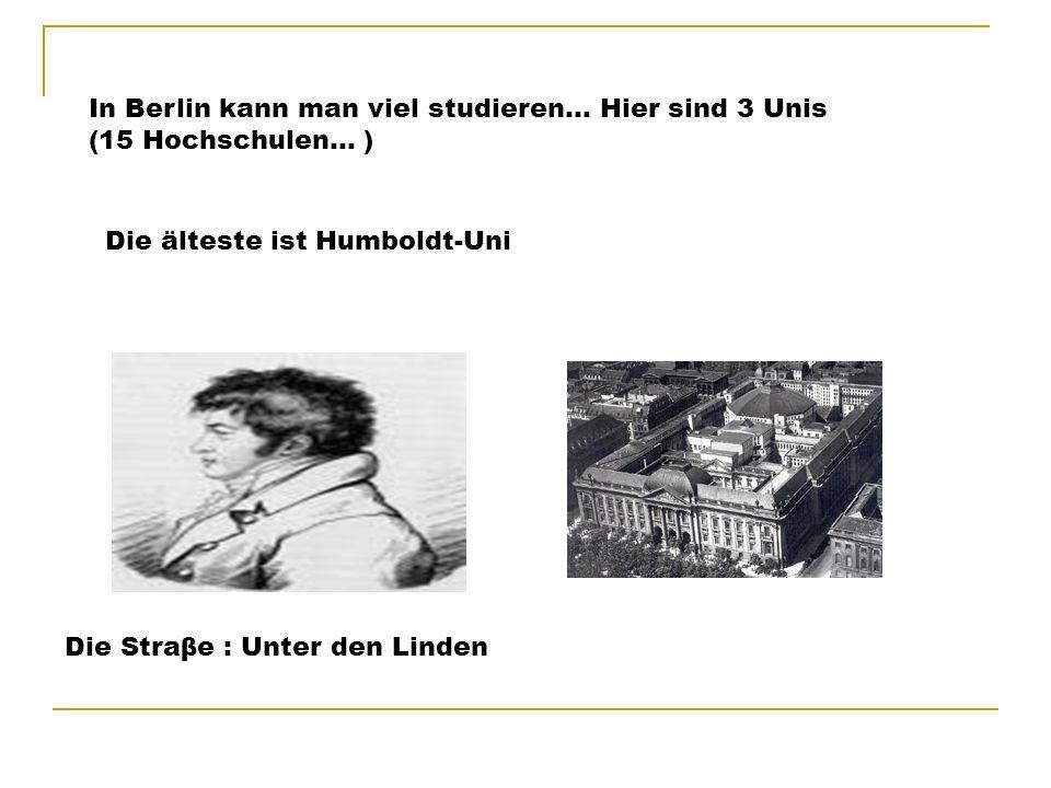 Etwas von Kultur.. Der Vergleich (porovnání) Prag – Berlin