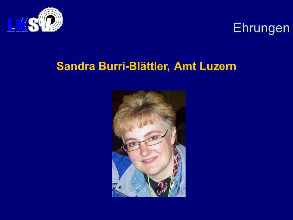 Sandra Burri-Blättler, Amt Luzern Ehrungen