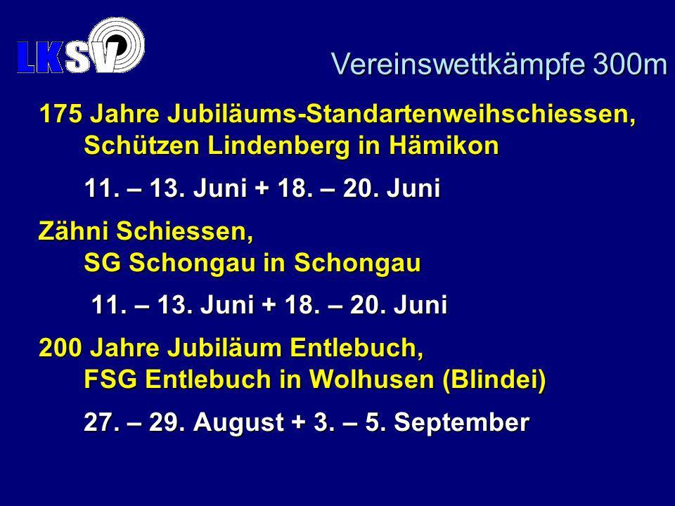 175 Jahre Jubiläums-Standartenweihschiessen, Schützen Lindenberg in Hämikon 11.