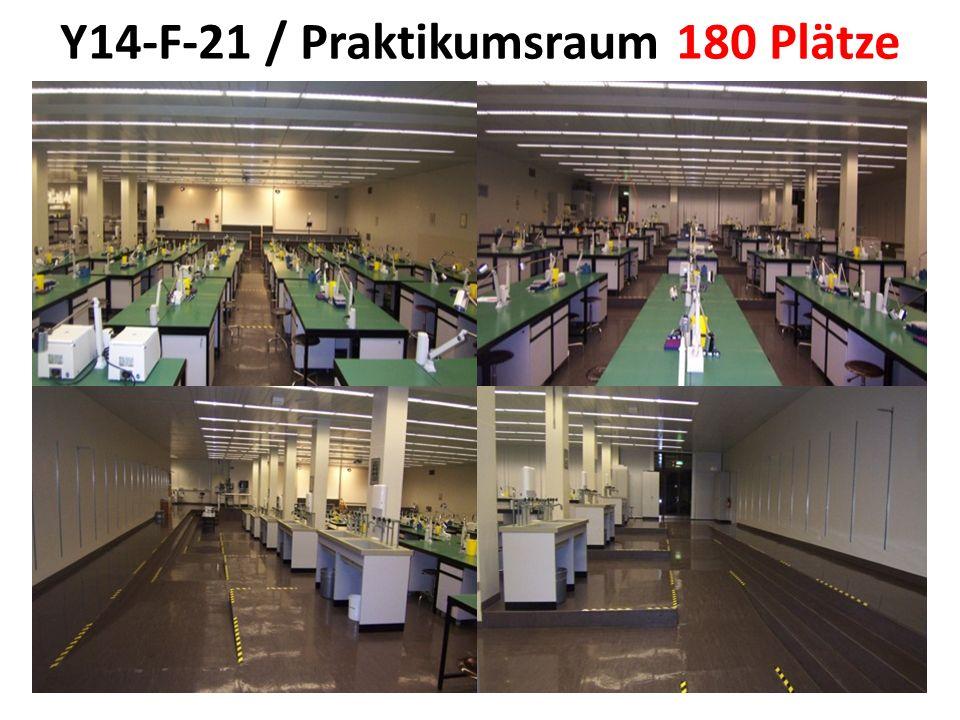 Y14-F-21 / Praktikumsraum 180 Plätze