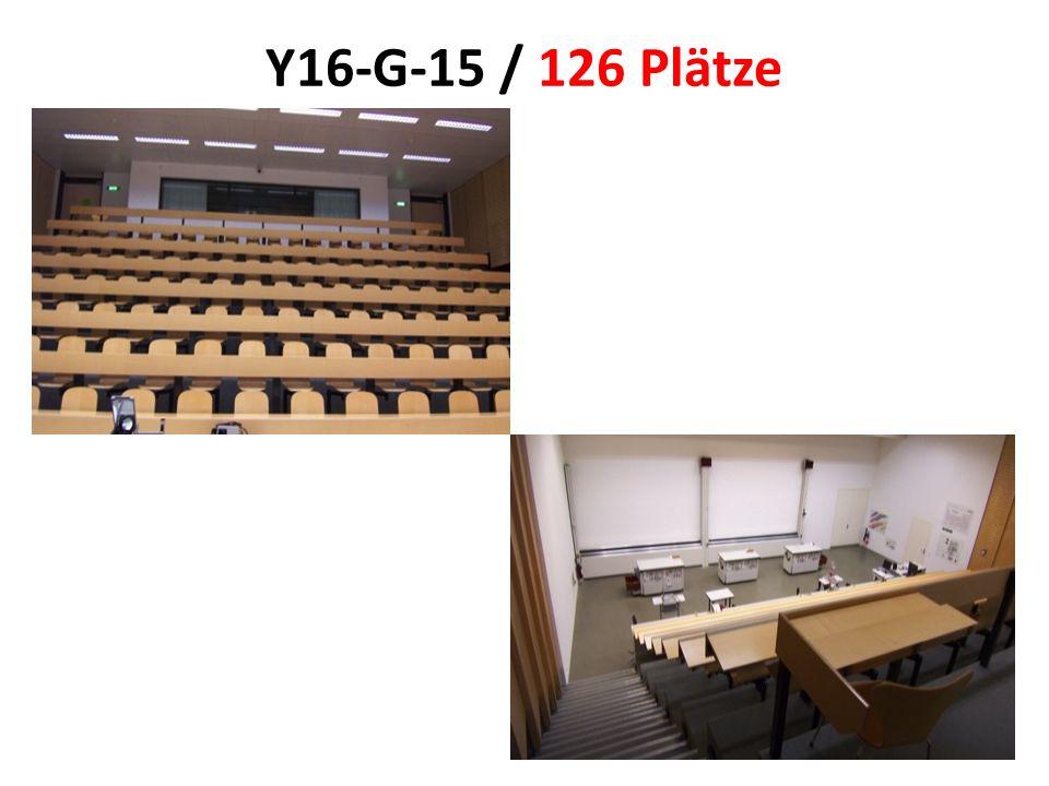 Y16-G-15 / 126 Plätze