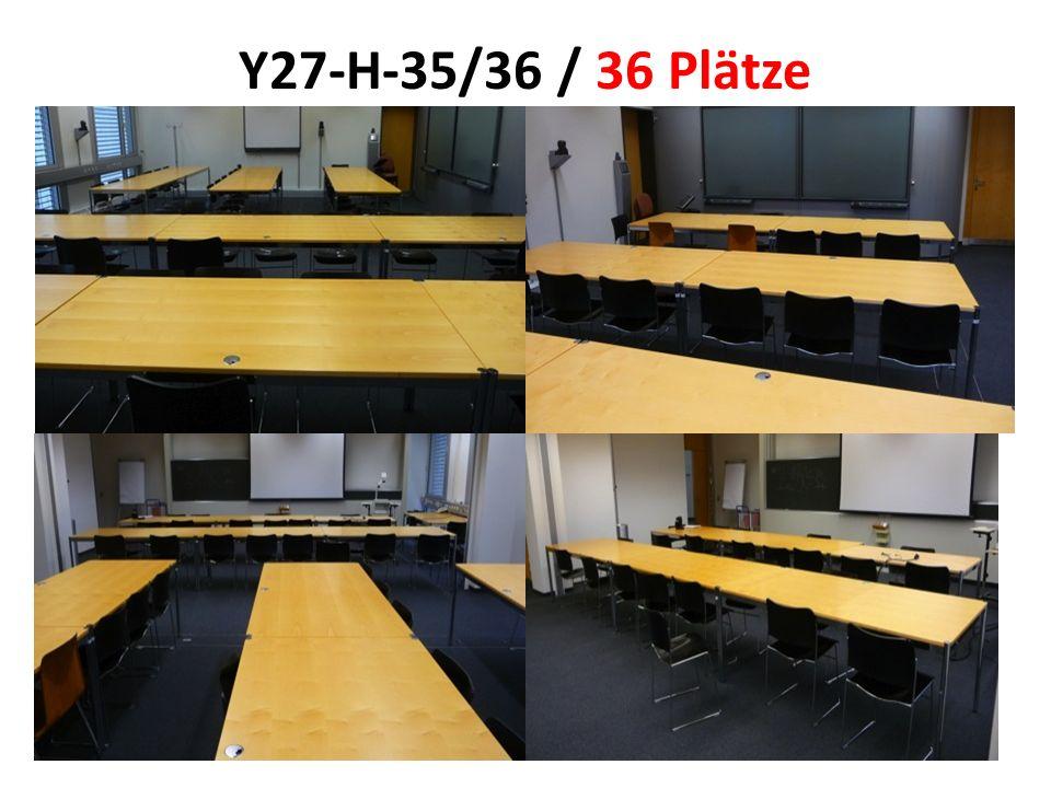 Y27-H-35/36 / 36 Plätze