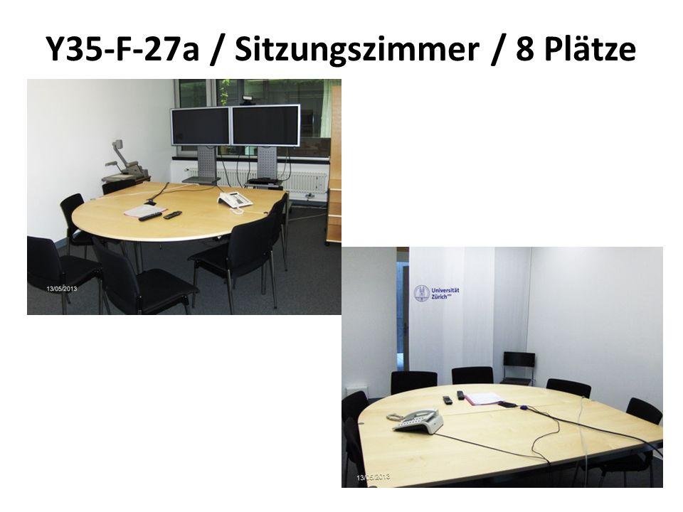 Y35-F-27a / Sitzungszimmer / 8 Plätze
