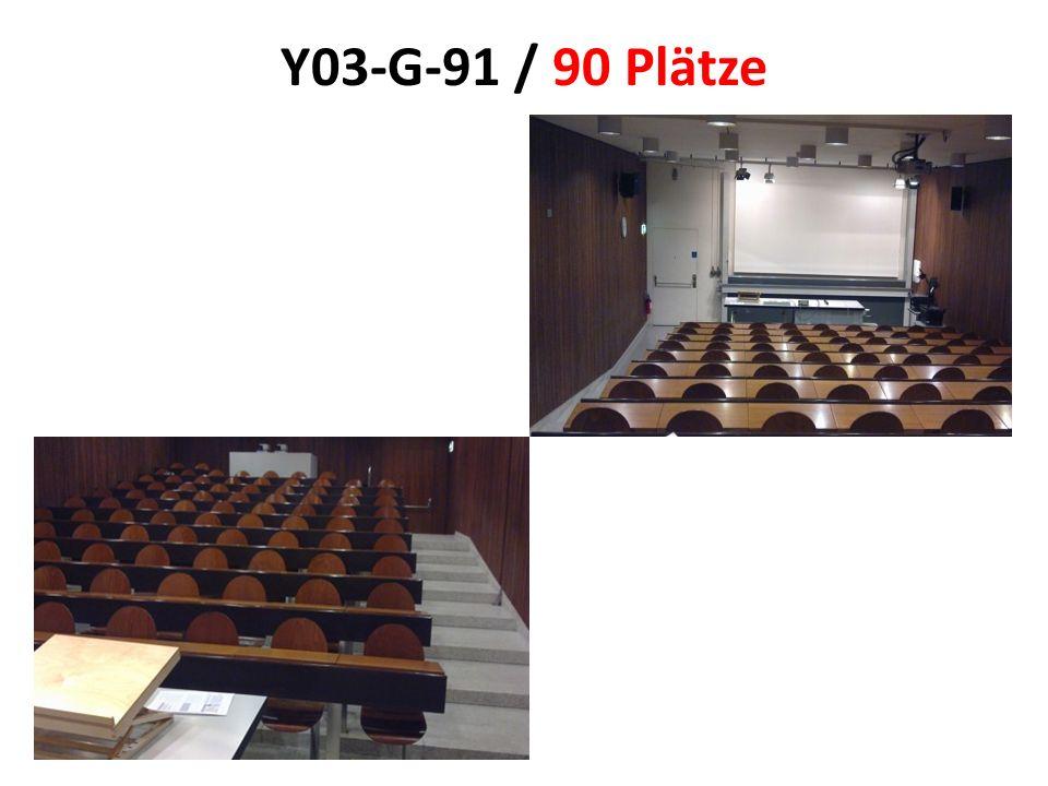 Y03-G-91 / 90 Plätze