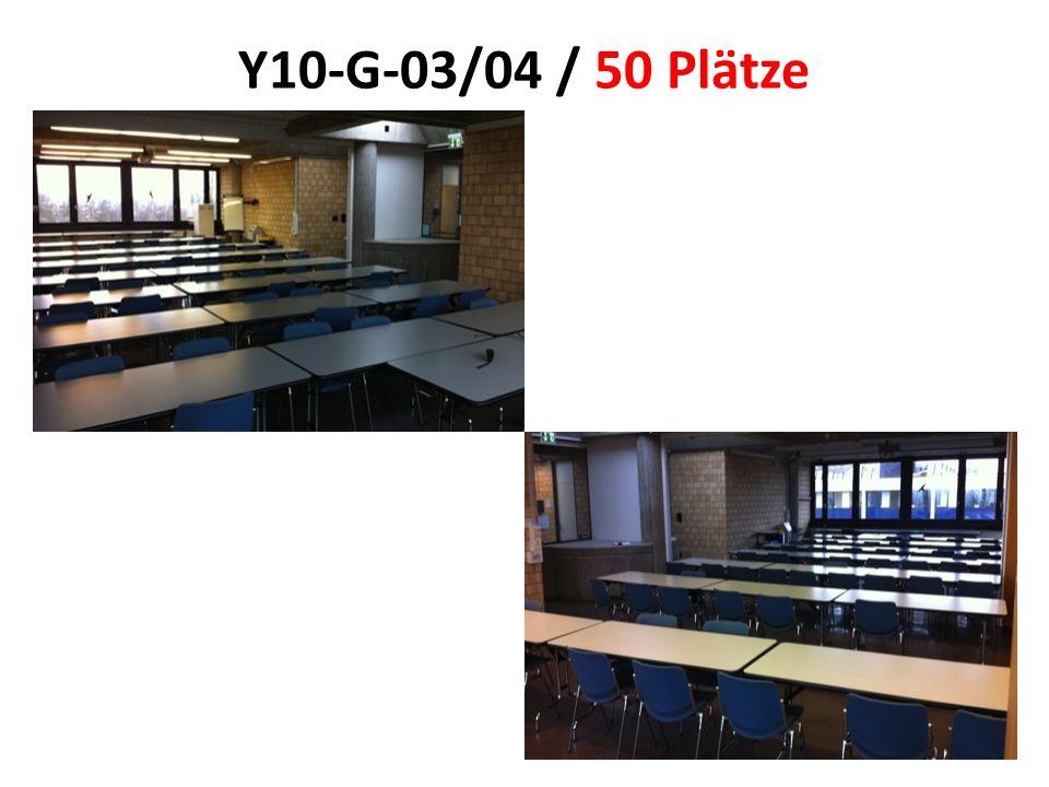 Y10-G-03/04 / 50 Plätze