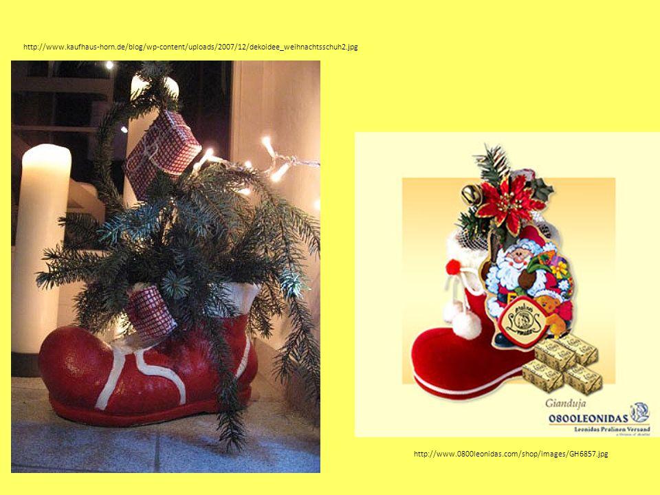 http://www.0800leonidas.com/shop/images/GH6857.jpg http://www.kaufhaus-horn.de/blog/wp-content/uploads/2007/12/dekoidee_weihnachtsschuh2.jpg