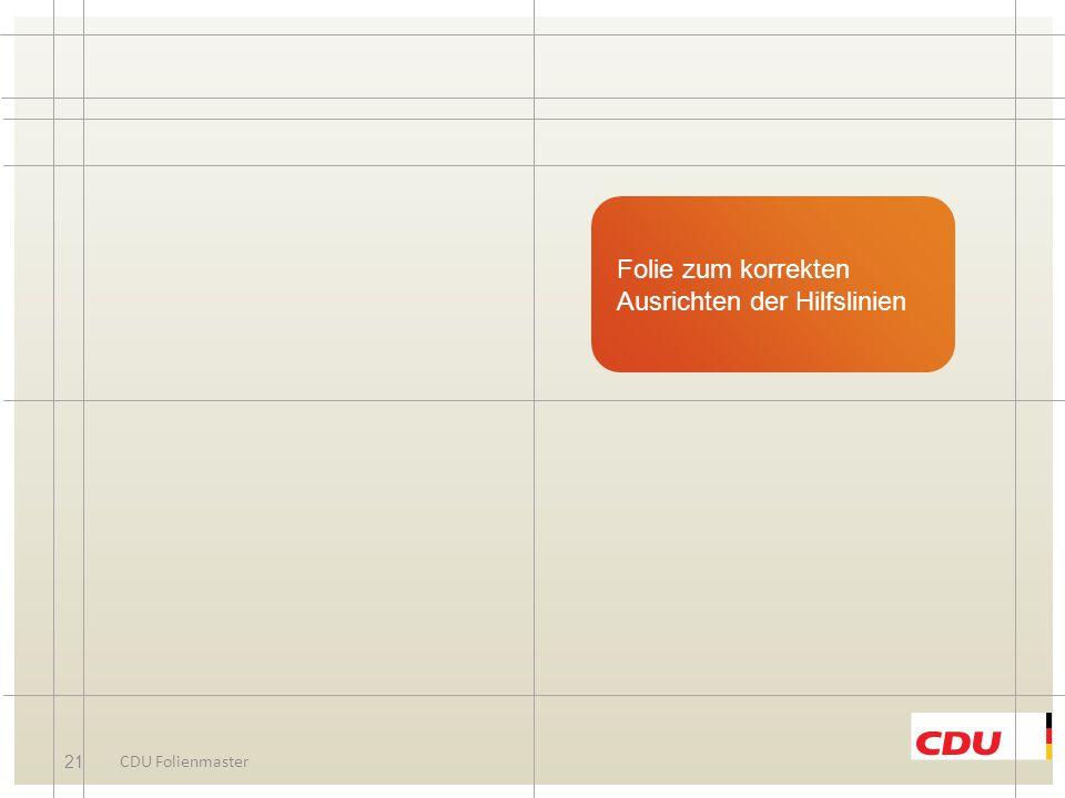 20 CDU Folienmaster Organigramm-Headline Foto Vorname Name Funktion Bitte Foto hinzufügen
