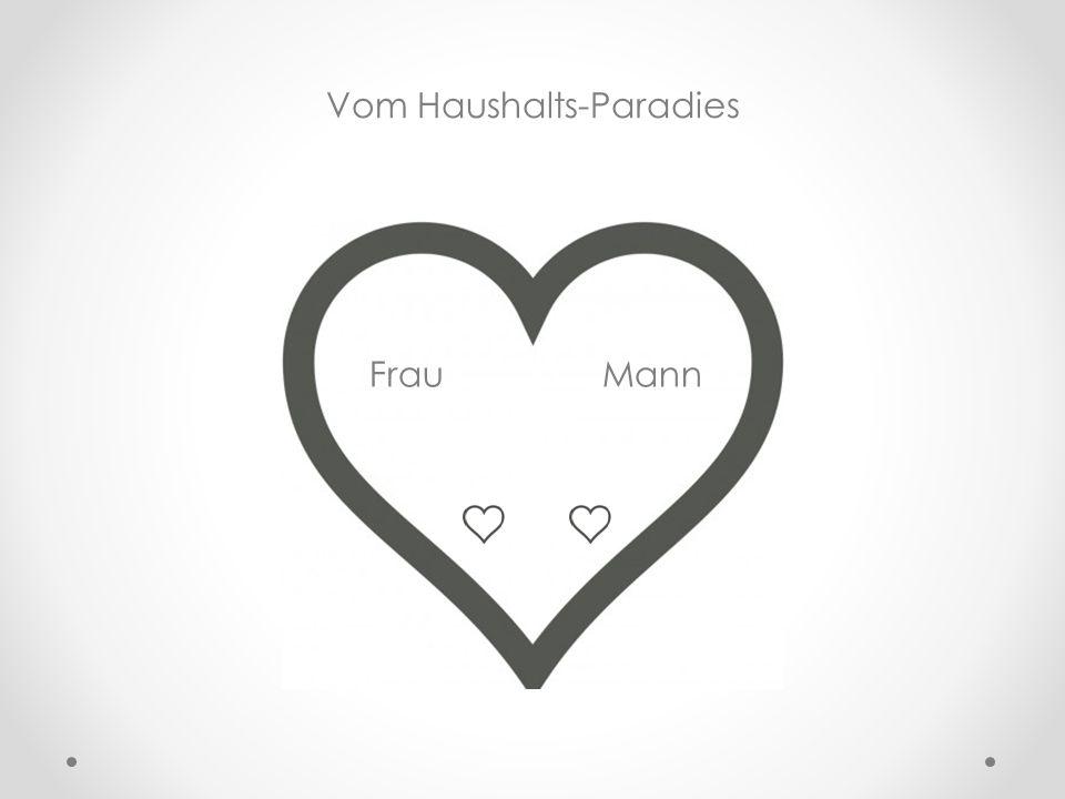 Frau Mann Vom Haushalts-Paradies