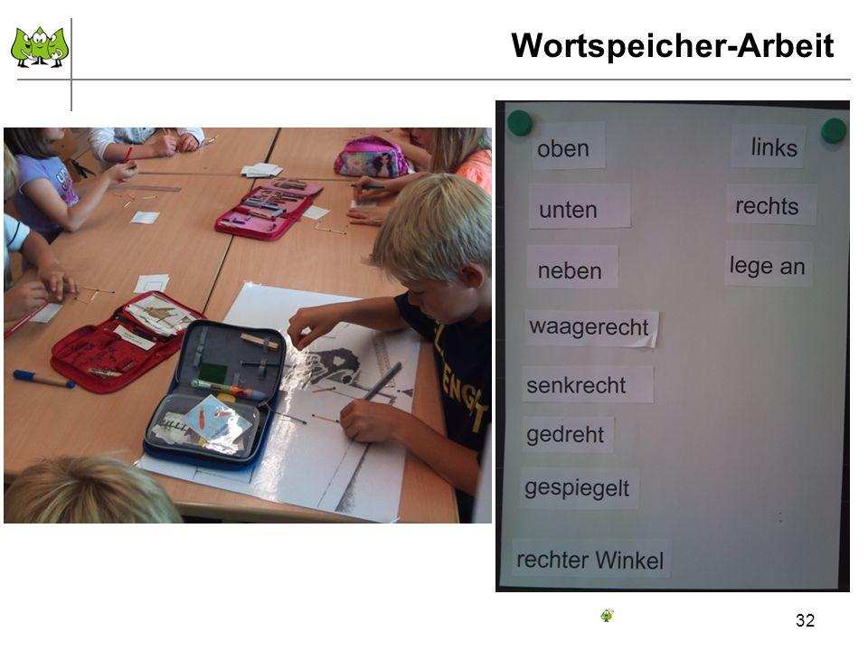 Wortspeicher-Arbeit 32