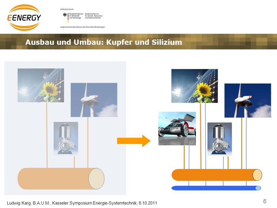 7 Ludwig Karg, B.A.U.M., Kasseler Symposium Energie-Systemtechnik, 6.10.2011 Ein neues Paradigma in der Energieversorgung verbrauchsorientierte Erzeugung plus erzeugungsorientierter Verbrauch