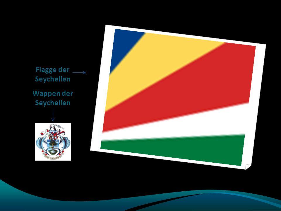 Flagge der Seychellen Wappen der Seychellen