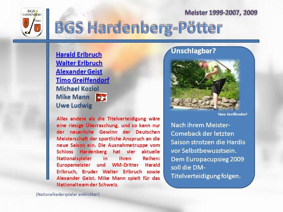 Harald Erlbruch Harald Erlbruch Walter Erlbruch Walter Erlbruch Alexander Geist Alexander Geist Timo Greiffendorf Timo Greiffendorf Michael Koziol Mik