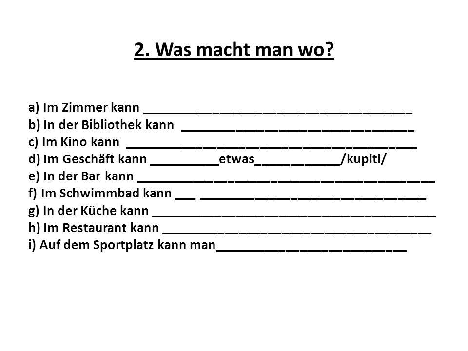 12.Bilde Sätze. a) fernsehen, jeden Tag, 3 Stunden, du b) aufstehen, er, wann .