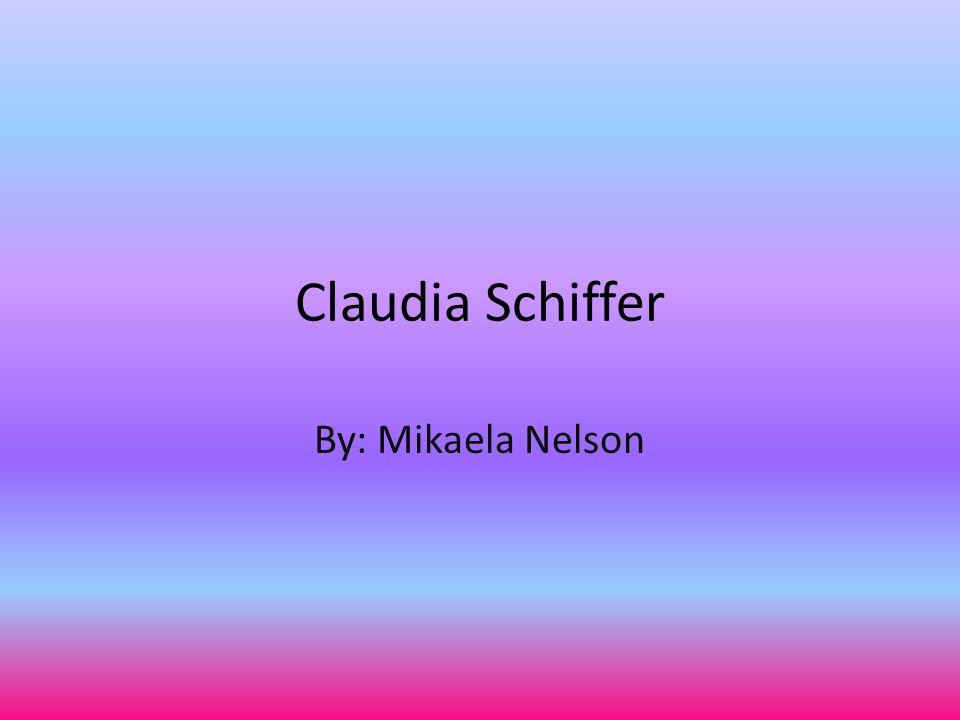 About Claudia Schiffer Modell.Geboren 25.