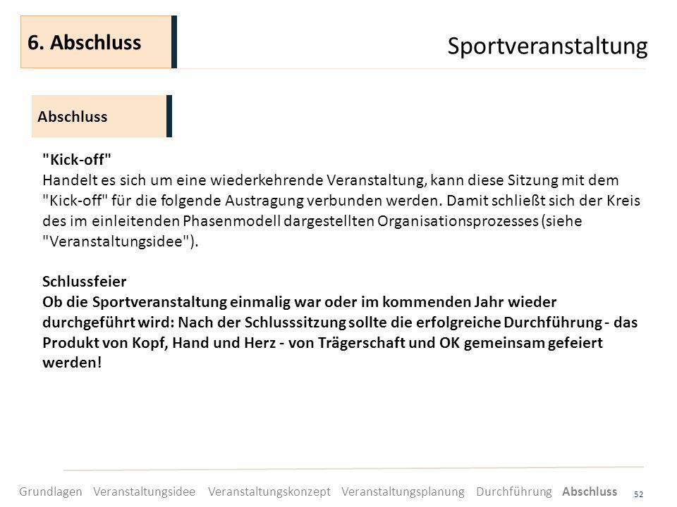 Sportveranstaltung 52