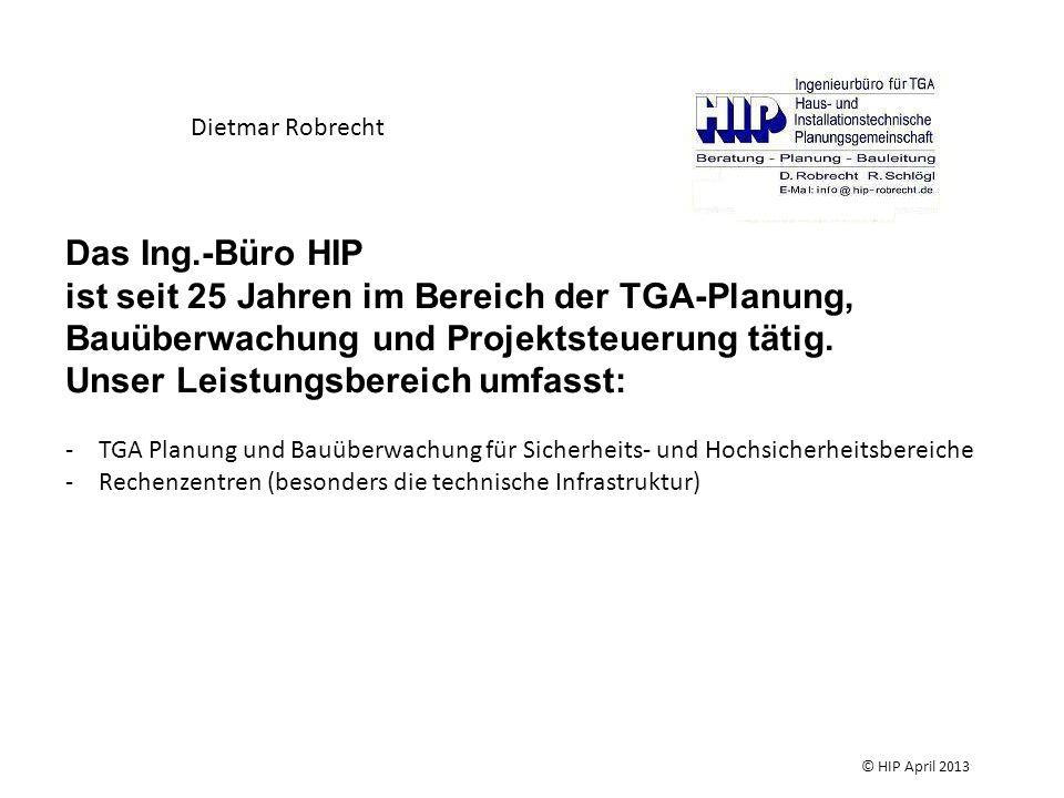 Mögliche Probleme bei der Durchführung der Maßnahme oder danach durch -unzureichende Planung © HIP April 2013