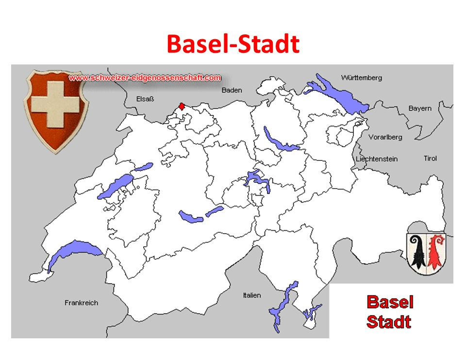 Der Kanton - Basel-Stadt ist ein deutschsprachiger Kanton im Nordwesten der Schweiz.
