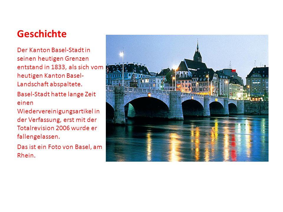 Wirtschaft Im Kanton Basel-Stadt sind die Chemische Industrie, die Pharmazeutische Industrie und der Handel von nationaler Bedeutung.