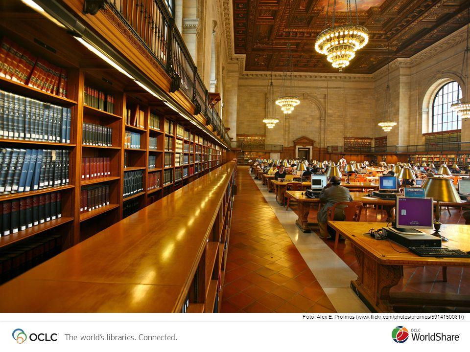The worlds libraries. Connected. Foto: Alex E. Proimos (www.flickr.com/photos/proimos/5914150081/)