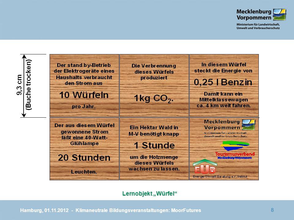 88 Lernobjekt Würfel Hamburg, 01.11.2012 - Klimaneutrale Bildungsveranstaltungen: MoorFutures